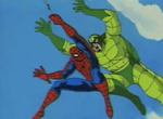 Spider-Man contre le scorpion