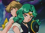 Sailor Uranus et Sailor Neptune