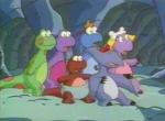 Dessin animé 90 dinosaure